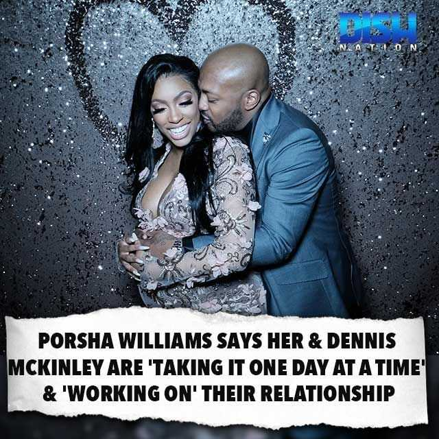 Porsha Williams on Rumors she's reconciled with Dennis Mckinley [Gossip]
