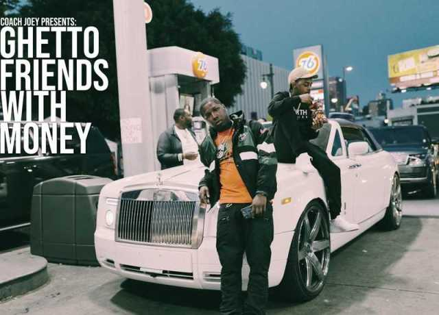 "42 Dugg, IceWear Vezzo, Peezy Join Coach Joey on ""Ghetto Friends with Money"" [Mixtape]"