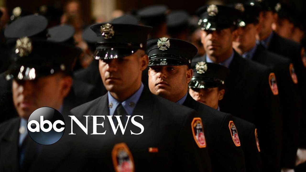 Children of 9/11 firefighter victims take oath to join FDNY