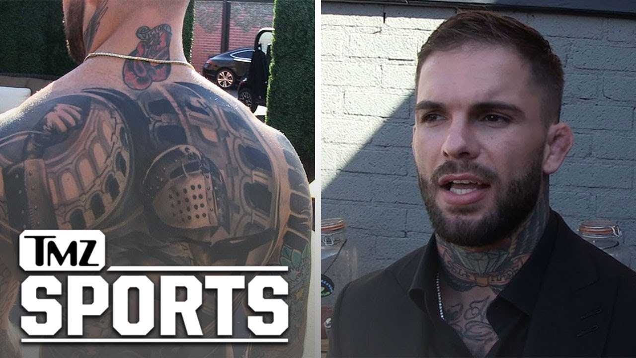 Cody Garbrandt Shows Off Insane Back Tat, Took 25 Hours to Complete! | TMZ Sports