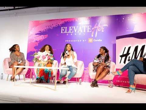 The ElevateHer Pitch Panel
