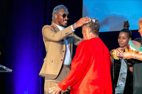 Hip-Hop Megastar Future Honors His Grandmother [Photos + Video]