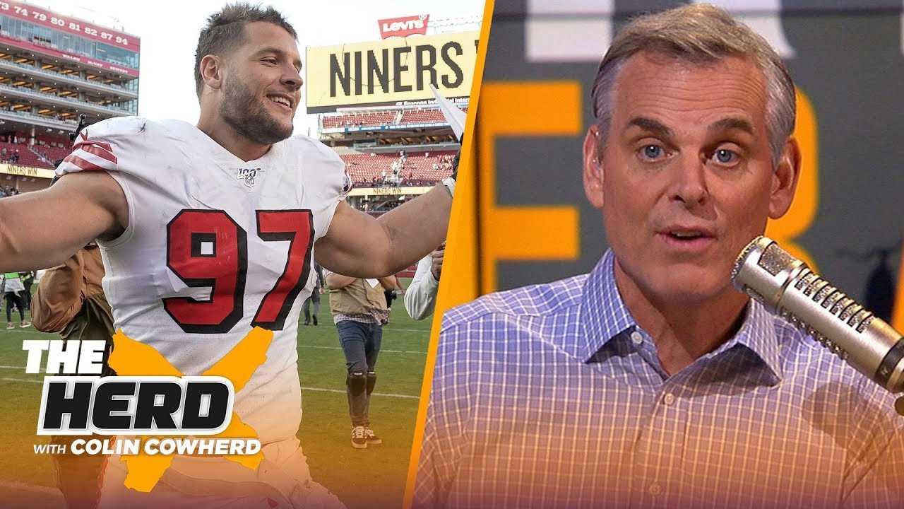 Herd Hierarchy: Colin's Top 10 NFL teams after 2019-20 Week 8 | NFL | THE HERD