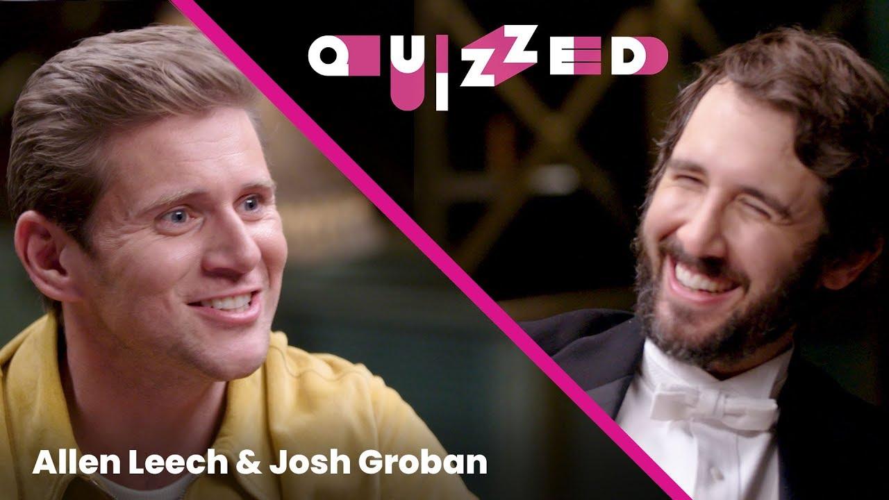 Josh Groban gets QUIZZED by Allen Leech on 'Downton Abbey' | Billboard