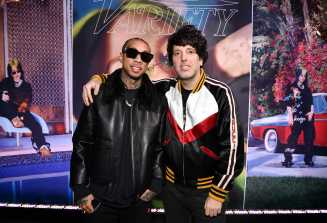 Tyga and Ron Perry