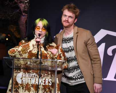 Billie Eilish and Finneas attends the Variety Hitmakers Brunch presented by Citi in Los Angeles, CA on December 7, 2019.