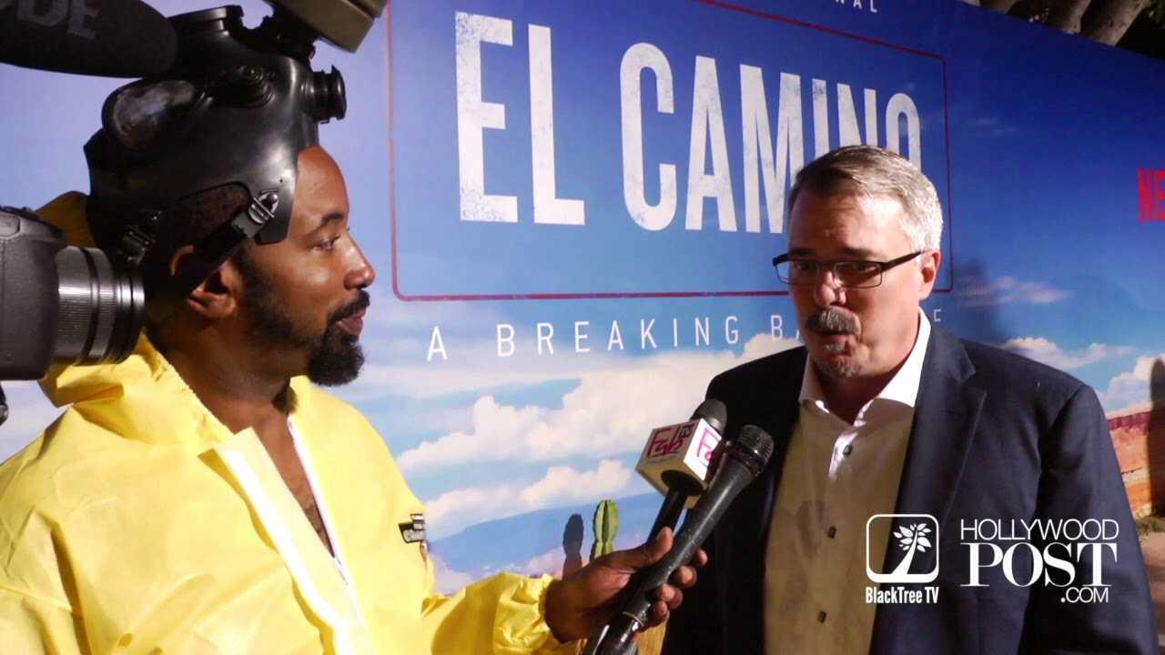 Vince Gilligan Interview for El Camino A Breaking Bad Movie