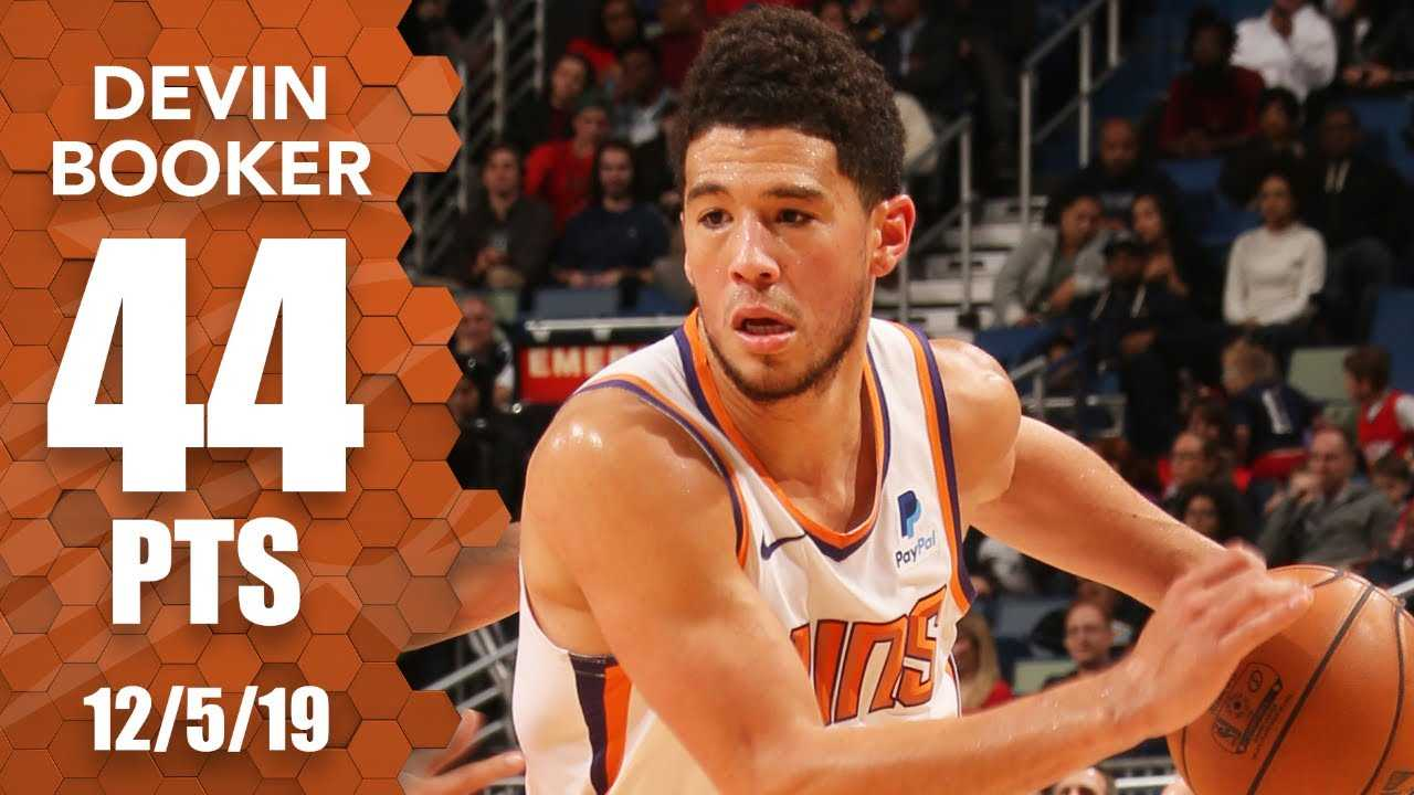 Devin Booker goes off for 44 points in Suns vs. Pelicans   2019-20 NBA Highlights