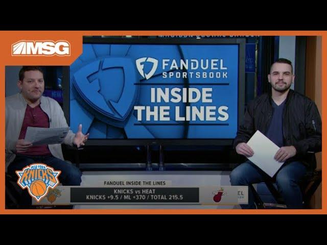 FanDuel Tips To Bet On Knicks-Heat Game & Other NBA Action (12/20/19) | New York Knicks