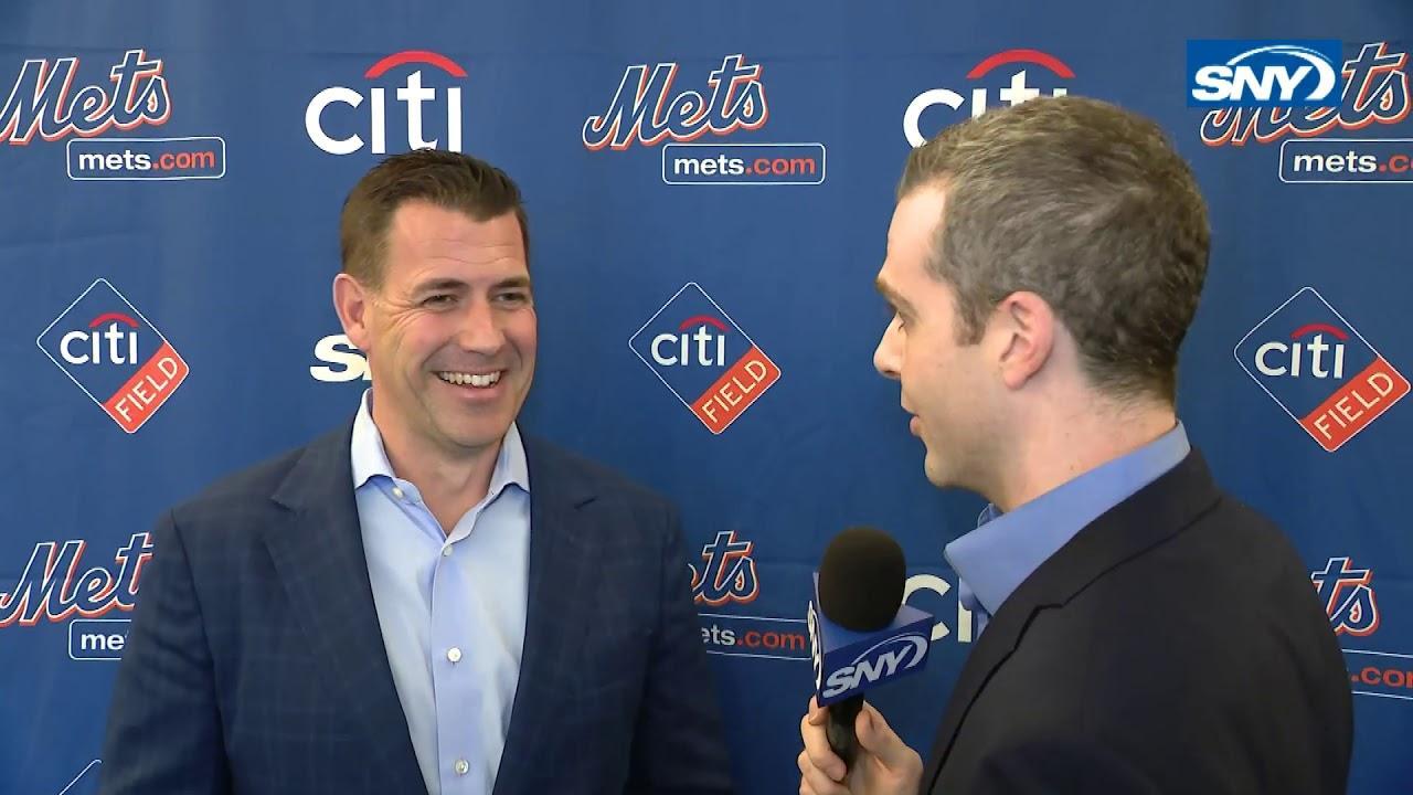 WATCH: Mets GM Brodie Van Wagenen explains his offseason plans