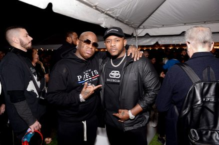 "MIAMI, FLORIDA - FEBRUARY 01: Birdman and Mack Maine attend Lil Wayne's ""Funeral"" album release party on February 01, 2020 in Miami, Florida. (Photo by Daniel Boczarski/Getty Images for Young Money/Republic Records)"
