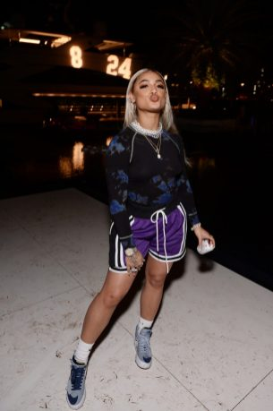 "MIAMI, FLORIDA - FEBRUARY 01: DaniLeigh attends Lil Wayne's ""Funeral"" album release party on February 01, 2020 in Miami, Florida (Photo by Daniel Boczarski/Getty Images for Young Money/Republic Records)"