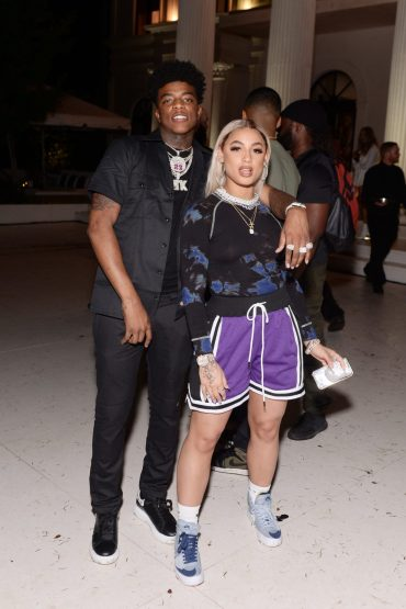 "MIAMI, FLORIDA - FEBRUARY 01: Yungeen Ace and DaniLeigh attend Lil Wayne's ""Funeral"" album release party on February 01, 2020 in Miami, Florida (Photo by Daniel Boczarski/Getty Images for Young Money/Republic Records)"