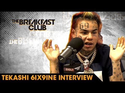 6ix9ine on Rolling With Crips And Bloods & Why He's The Hottest [Interview]