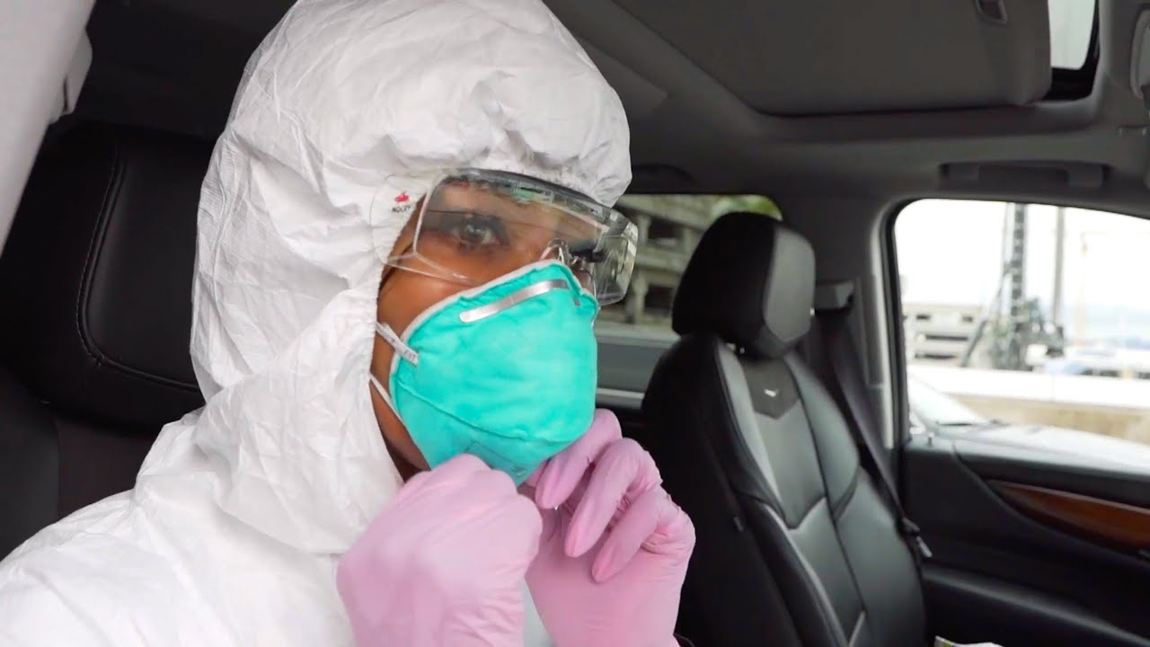 NAOMI CAMPBELL RELEASES NEW YOUTUBE EPISODE - HOW TO STAY SAFE TRAVELING AMID CORONAVIRUS PANDEMIC