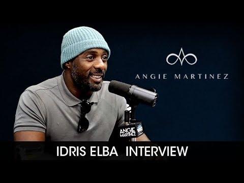 Actor Idris Elba Talks Being In Love with Angie Martinez