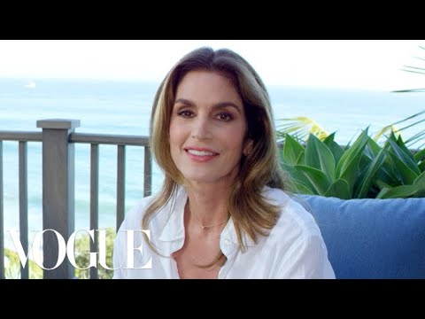 Cindy Crawford Answers 73 Questions for Vogue