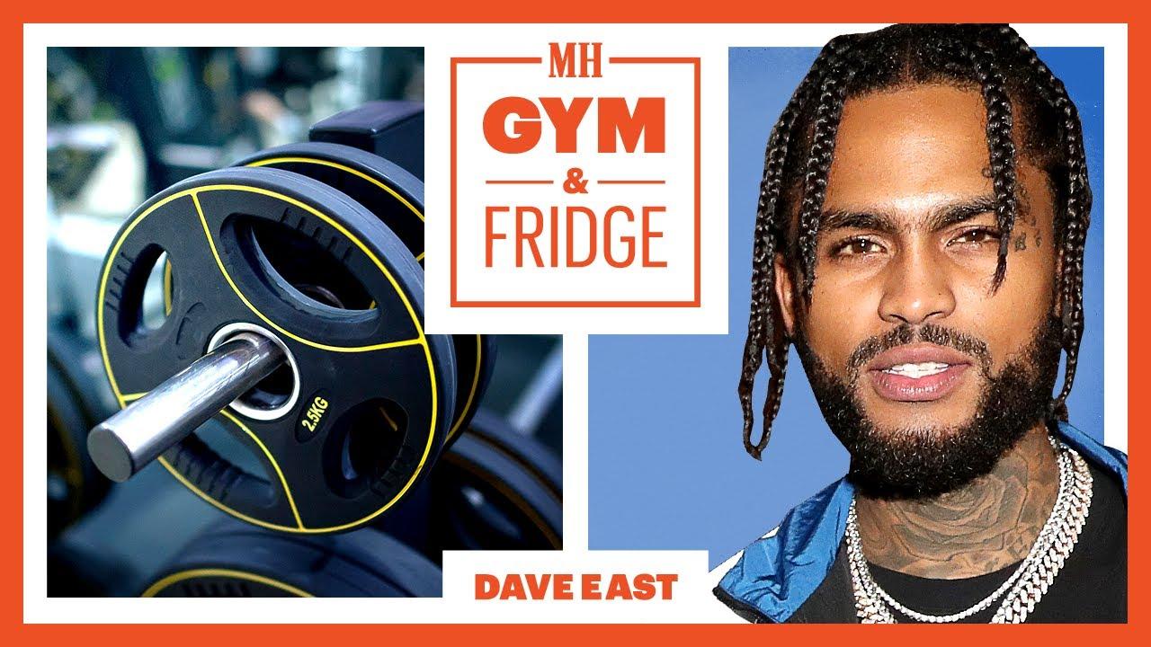 Dave East Shows His Home Gym & Fridge | Gym & Fridge | Men's Health