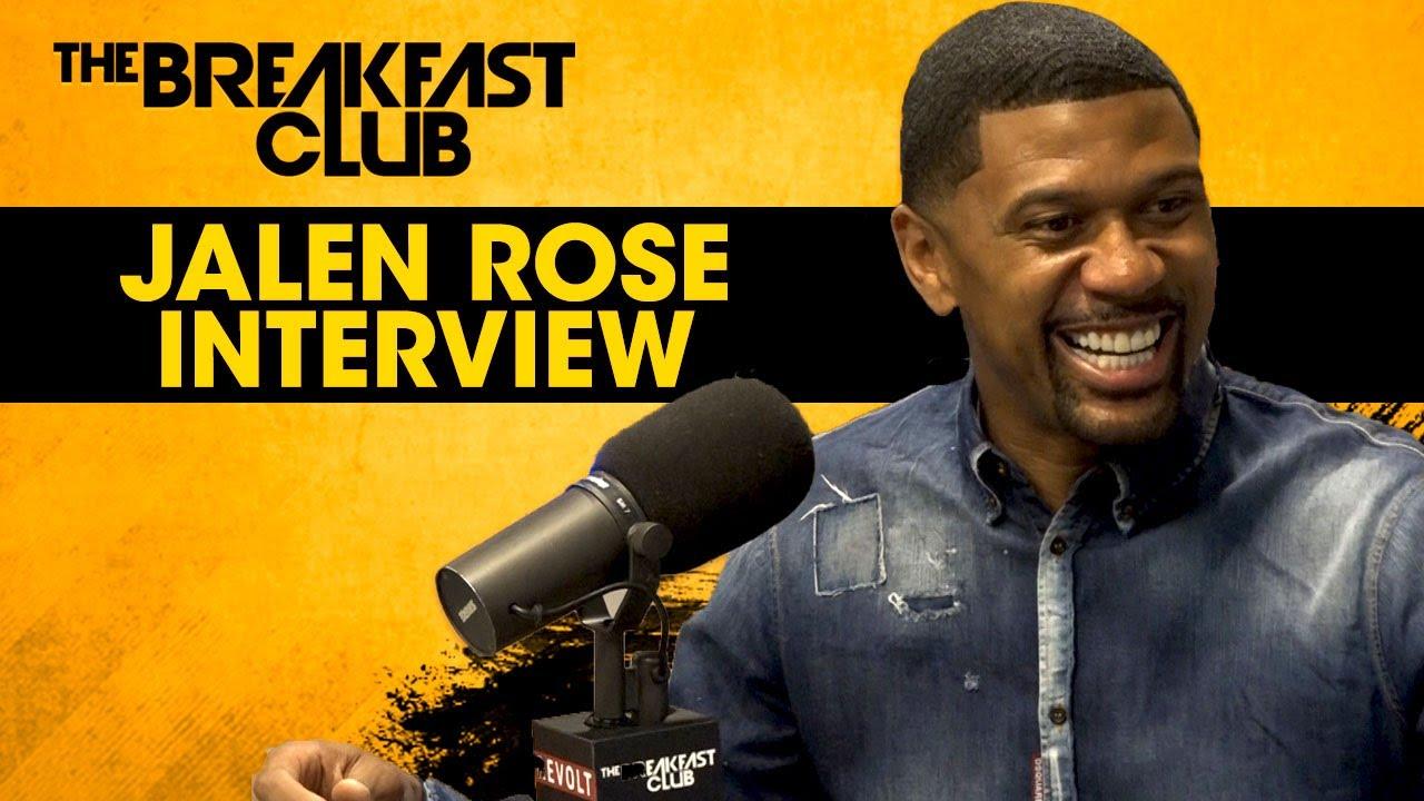 Jalen Rose Talks Supporting Lavar Ball, The 2017 NBA Draft [Interview]