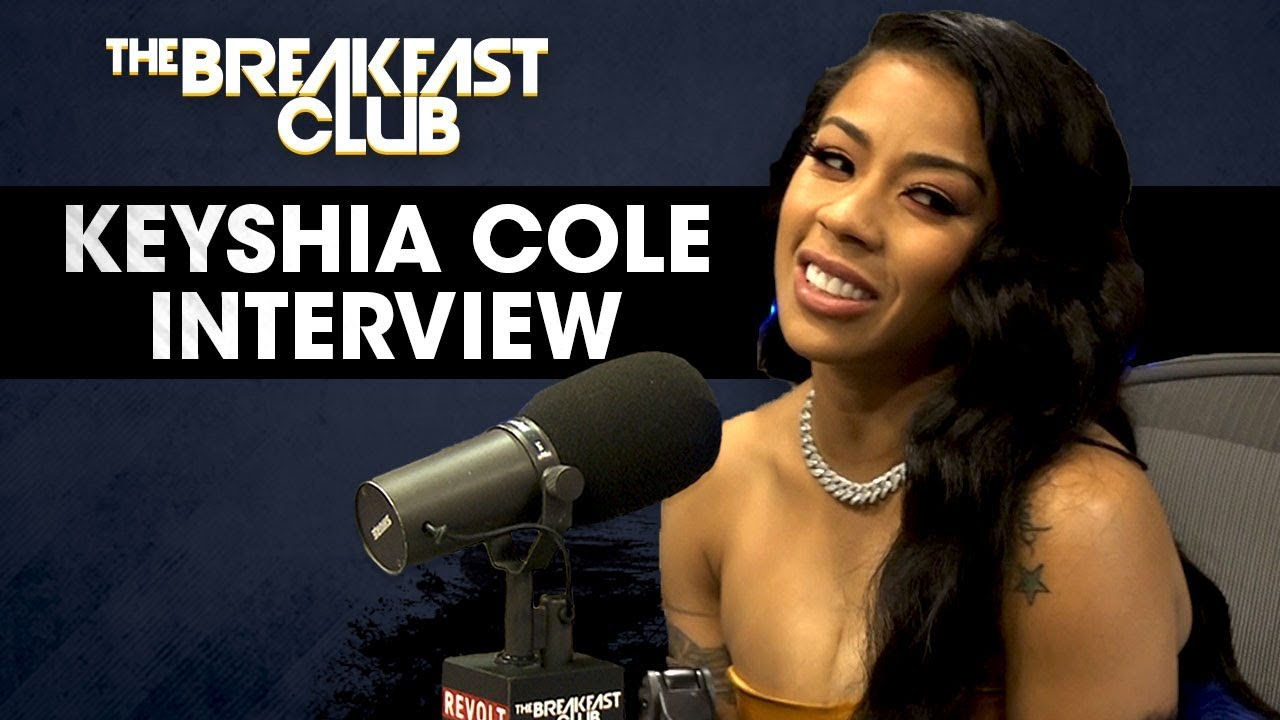Keyshia Cole Talks Her Relationship With Booby Gibson On The Breakfast Club