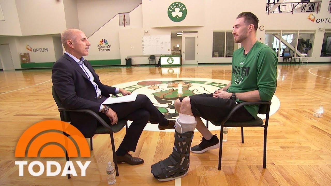NBA Boston Celtics Player Gordon Hayward On His Devastating Injury   TODAY [Interview]