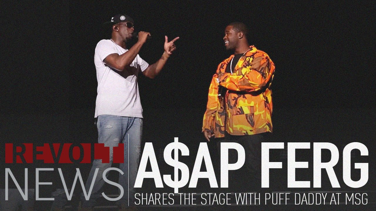 Puff Daddy Brings Out ASAP Ferg at Madison Square Garden [Video]