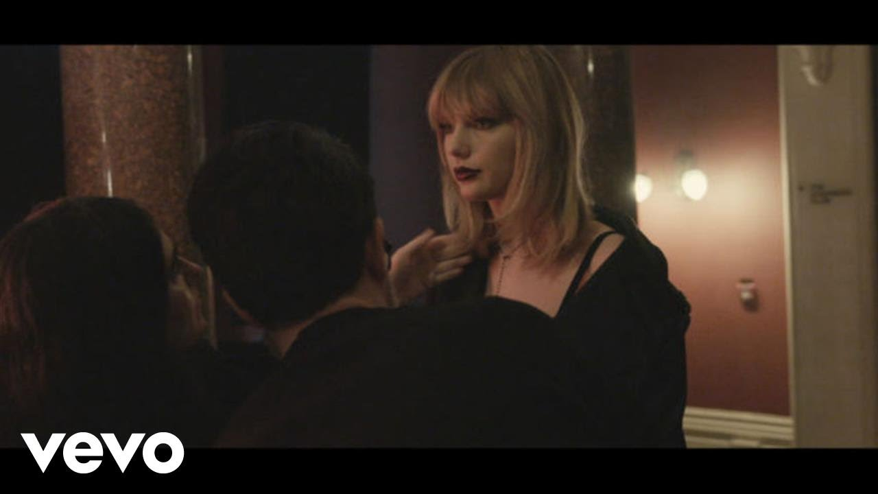"""Taylor Swift - """"I Don't Wanna Live Forever"""" (Fifty Shades Darker) (BTS Glitter Lip Footage) [Video]"""
