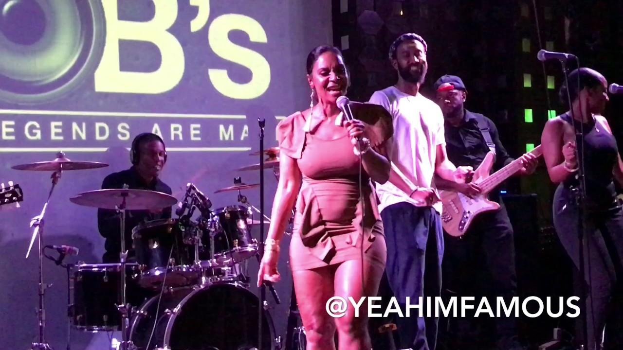 Teedra Moses Performing Live at SOBs [Video]