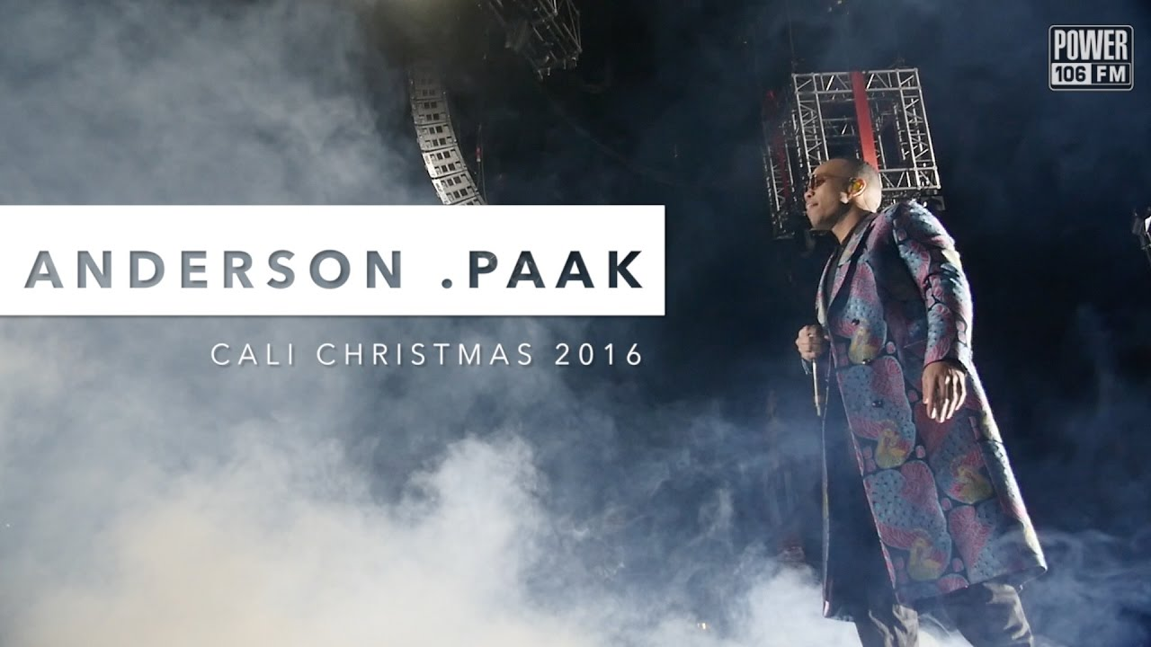 Watch: Anderson .Paak Perform 'Come Down' Live at Cali Christmas 2016 #CaliChristmas16 [Video]