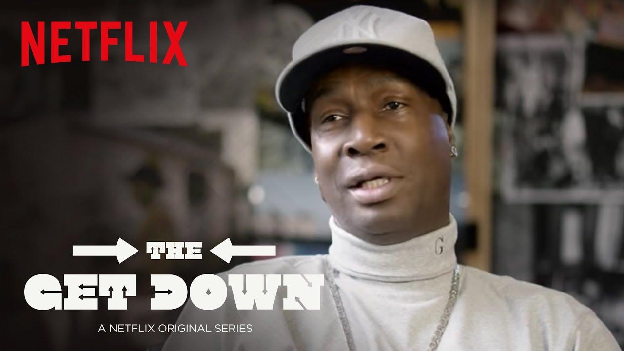 Watch: Grandmaster Flash - The Get Down (Netflix Featurette) [Interview]