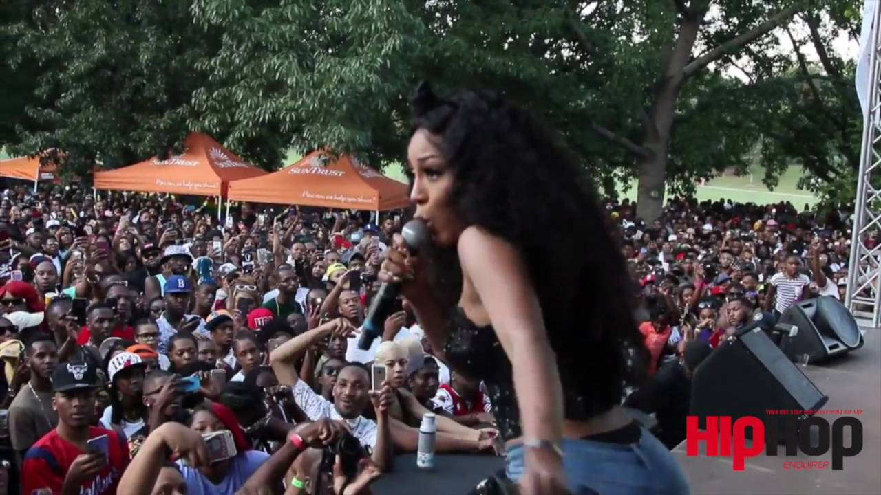 Watch: K. Michelle Performing Live at the Pure Heat Festival in Atlanta [Video]