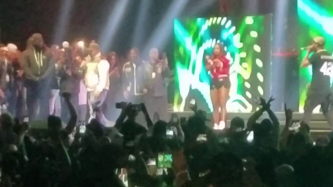 """Watch: Remy Ma , Fat Joe Perform """"Lean Back"""" & """"All The Way Up"""" Live at the Ruff Ryders Reunion [Video]"""