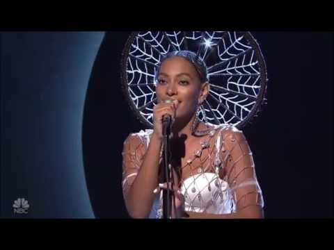 """Watch: Solange Performing """"Cranes In The Sky"""" Live On SNL [Video]"""
