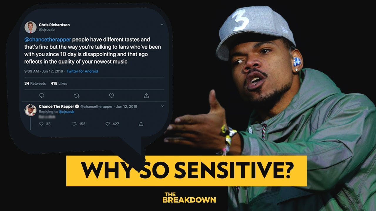 Why Are Rappers So Sensitive? (Looking at Nicki Minaj, Chance The Rapper & More) | The Breakdown