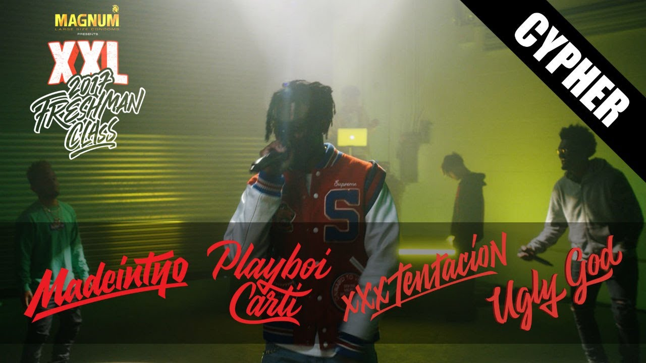 XXXTentacion Silences the Set for his XXL Freshman Cypher Verse!