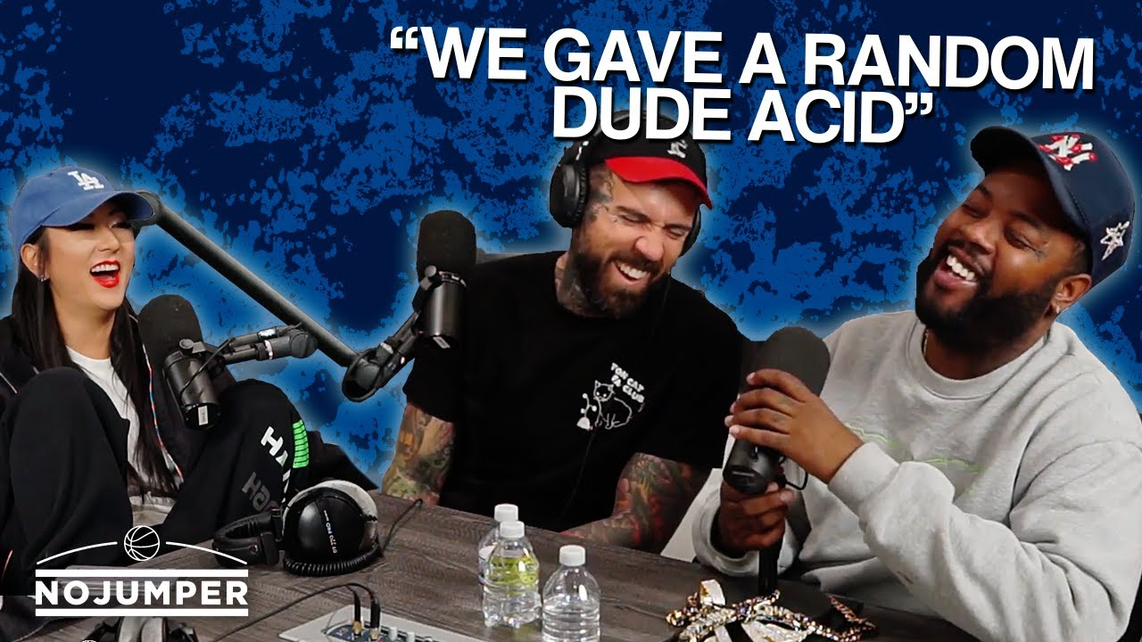Lil House Phone Tells INSANE Acid & G*ns Story From Last Weekend!