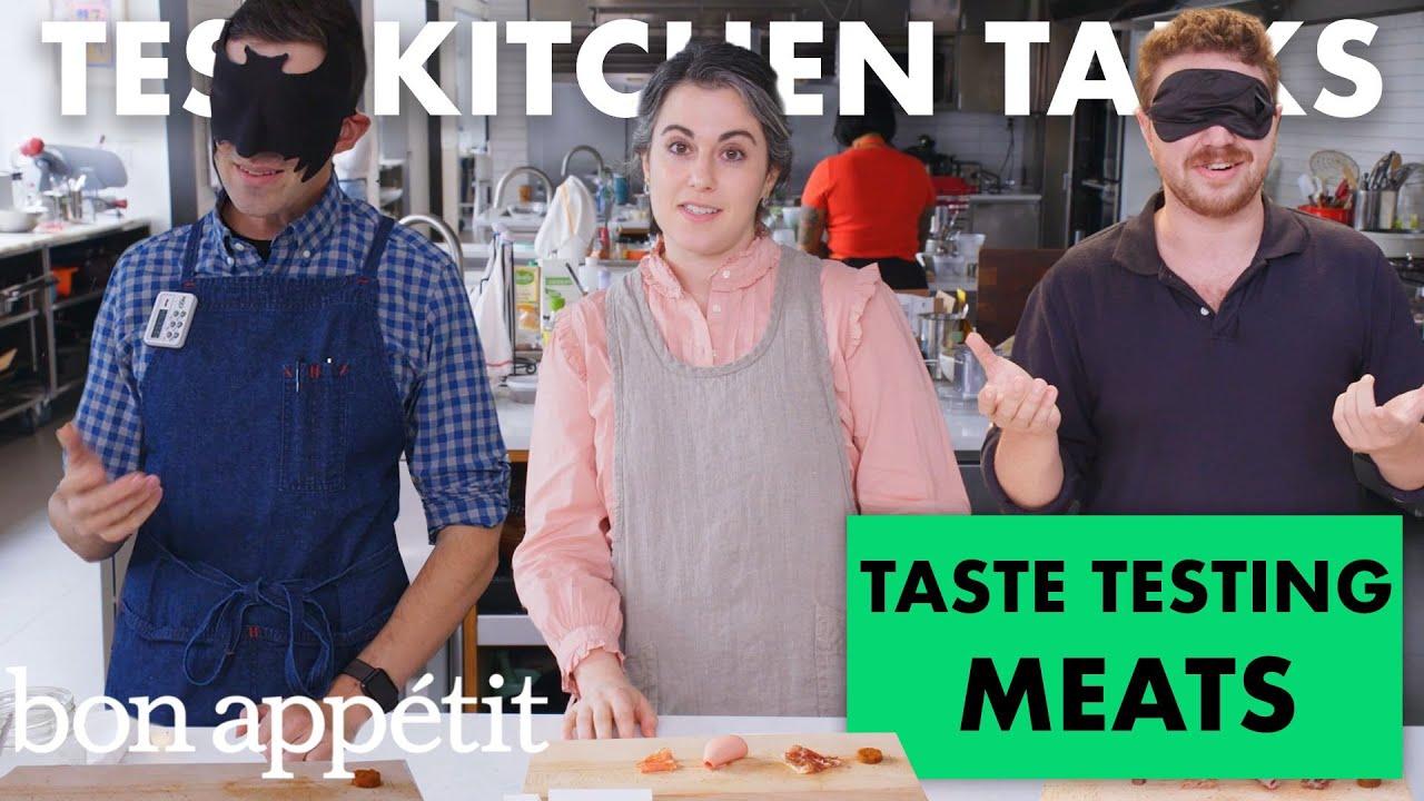 Professional Chefs Blindly Taste Test Cured Meats   Test Kitchen Talks   Bon Appétit
