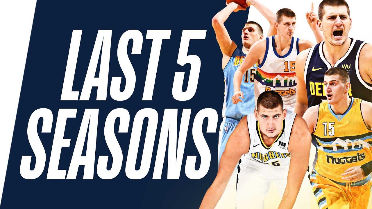 Nikola Jokic's Top Plays | Last 5 Seasons