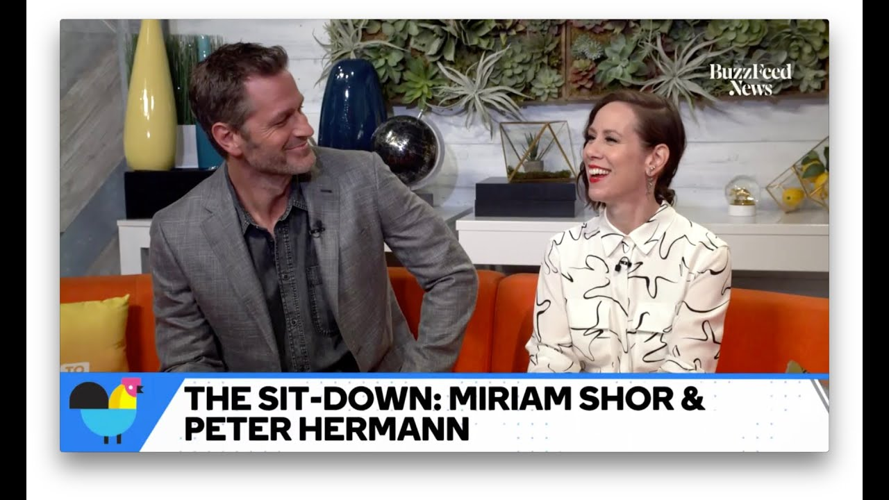 """Peter Hermann & Miriam Shor Want Mariska Hargitay To Guest Star On """"Younger"""""""