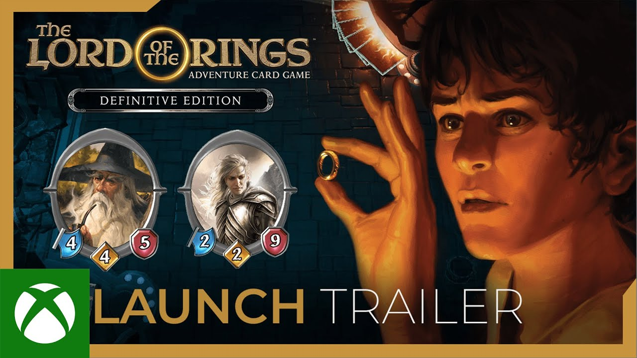The Lord of the Rings: Adventure Card Game - Definitive Edition - Launch Trailer