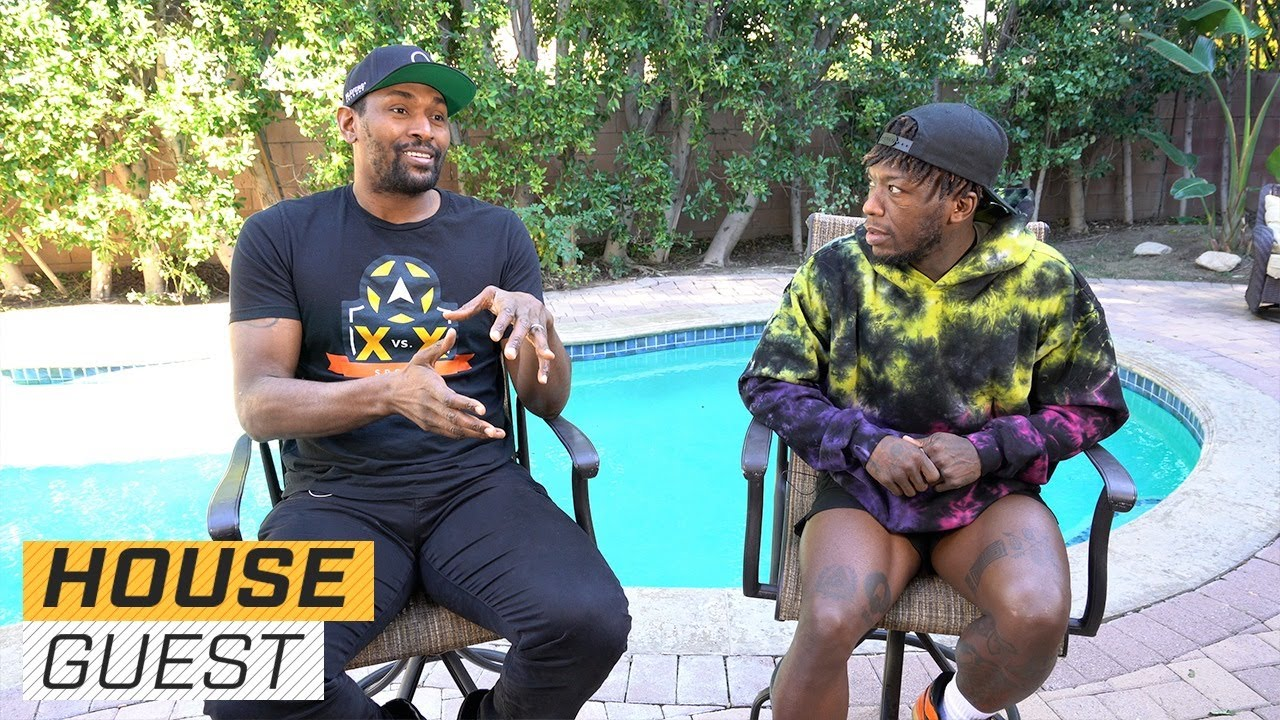 Metta World Peace's LA Pad | Houseguest With Nate Robinson | The Players' Tribune