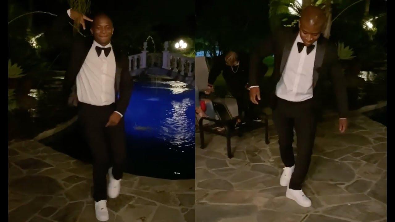 OT Genasis Tuxedo Crip Walk🔵 His Birthday Had Him Too Lit