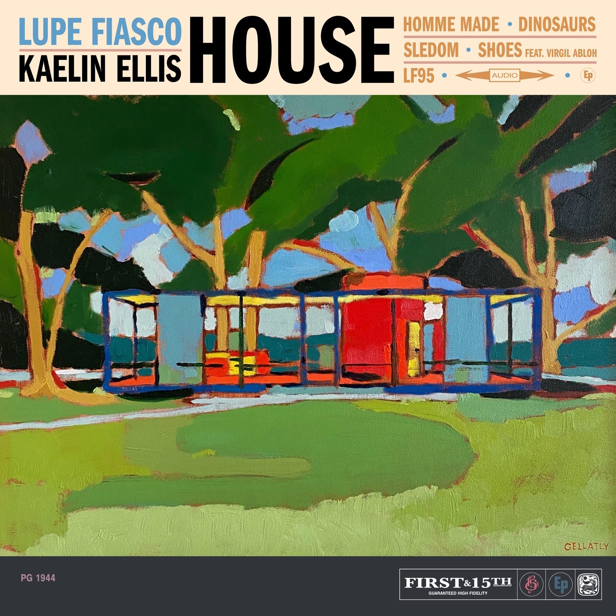 Lupe Fiasco & Kaelin Ellis - HOUSE (feat. Virgil Abloh)