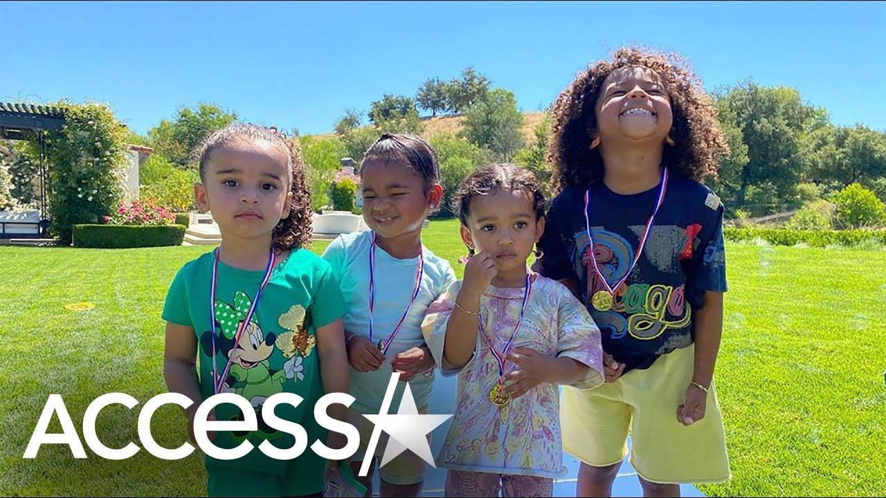Dream Joins Kardashian Cousin Crew In Cute Pic