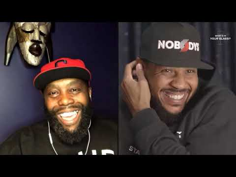 Killer Mike | What's In Your Glass | Carmelo Anthony