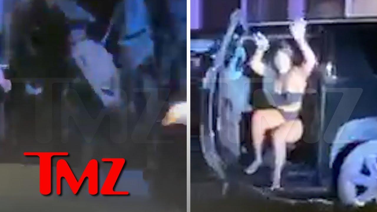 Megan Thee Stallion & Tory Lanez Swarmed by Cops During His Gun Arrest   TMZ