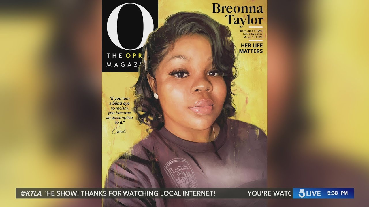 Oprah puts Breonna Taylor on cover of her magazine in historic move