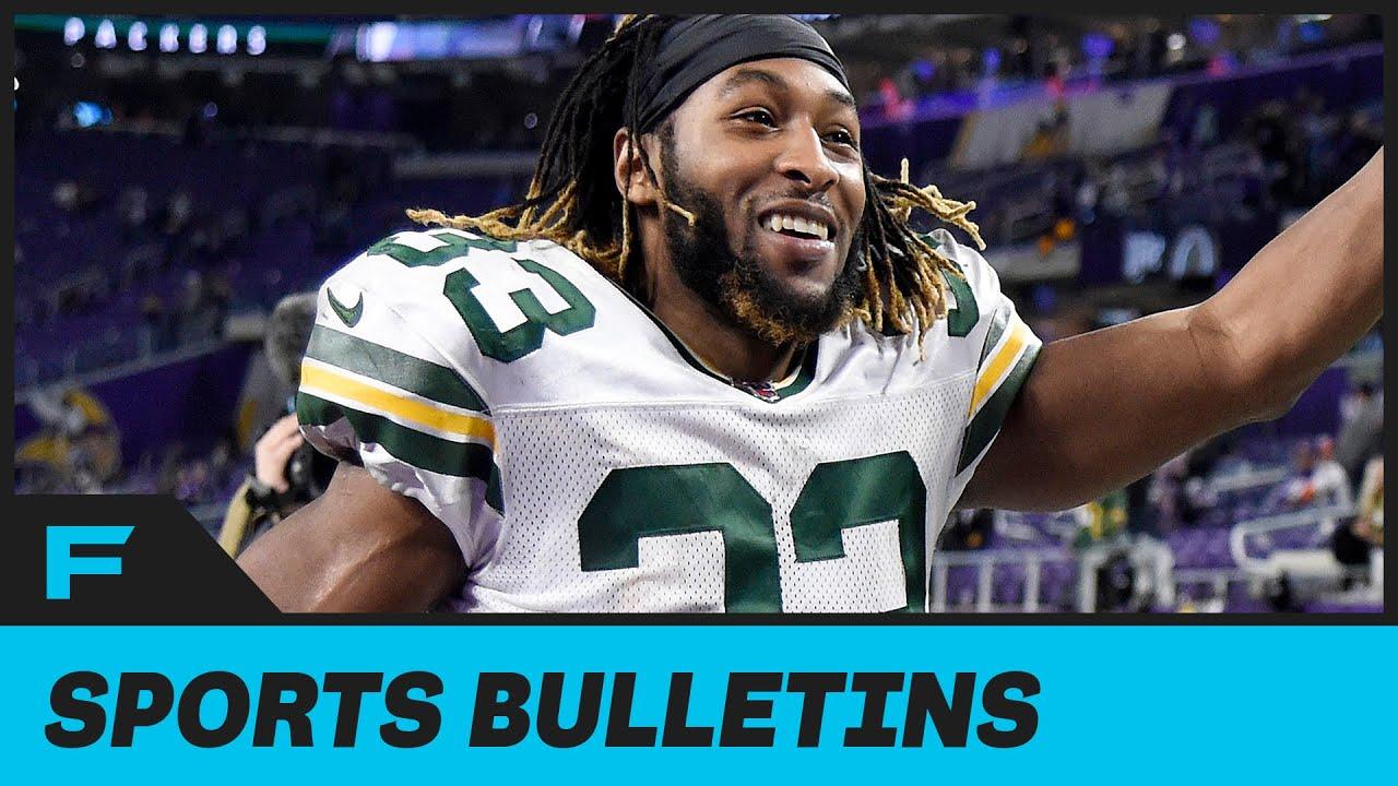 Packers' Aaron Jones Playing Video Games While GF Was In Labor Starts HUGE Debate On Social Media