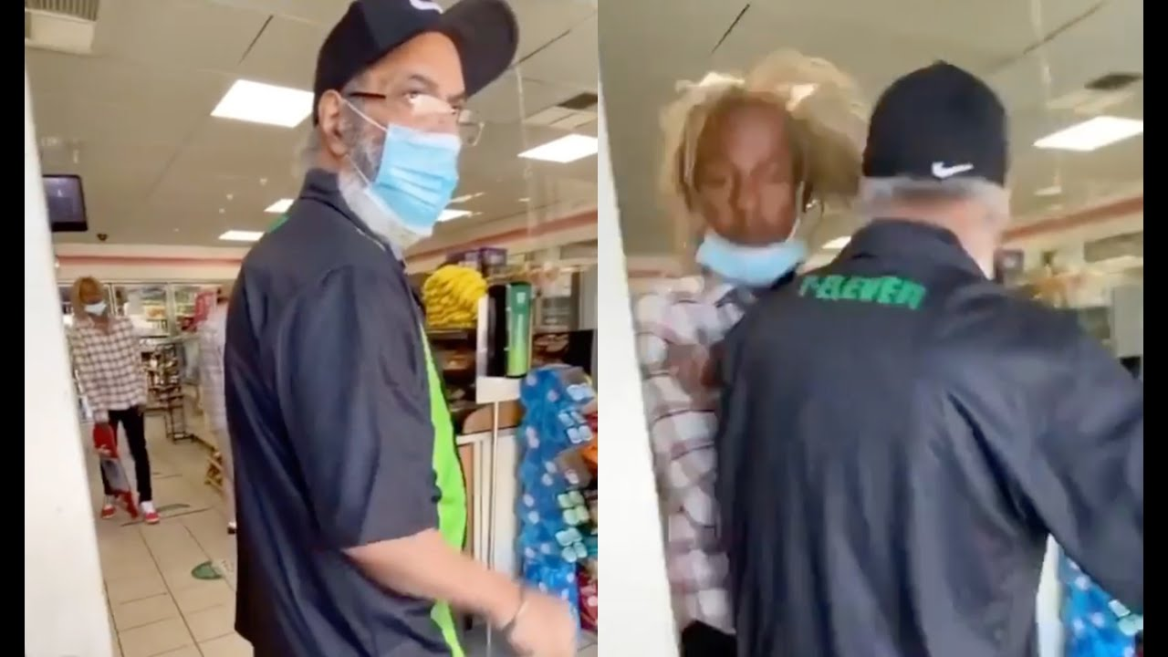 Rich The Kid Gets Hit Stick By 7/11 Owner After Skateboarding In Store