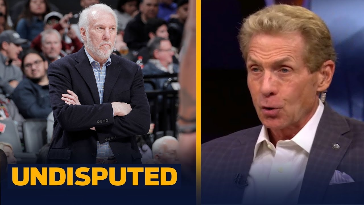 Skip & Shannon address the rumors of Gregg Popovich coaching KD & Kyrie at Nets   NBA   UNDISPUTED